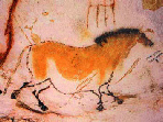 A photo of the Yellow Mare of Lascaux